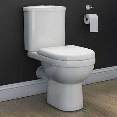 Vellamo Connect Toilet & Soft Close Seat - 640mm Projection