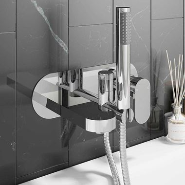 Vellamo Desire Wall Mounted Bath Shower Mixer