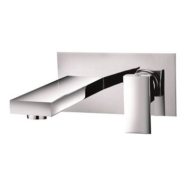 Vellamo Forte Wall Mounted Bath Filler Tap