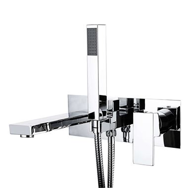 Vellamo Forte Wall Mounted Bath Shower Mixer