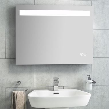 Vellamo LED Mirror with Touch Sensor & Bluetooth - 1200 x 600mm