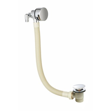 Vellamo Overflow Bath Filler with Clicker Waste