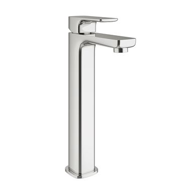Vellamo Panache Tall Basin Mixer Tap with Waste