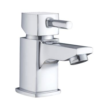 Vellamo Quadro Small Basin Mixer Tap with Waste