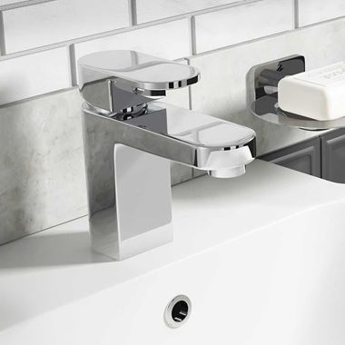 Vellamo Reveal Basin Mixer Tap with Waste