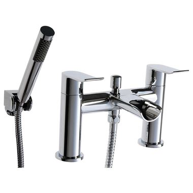 Vellamo River Waterfall Bath Shower Mixer with Shower Kit