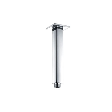 Vellamo Square Fixed Ceiling Shower Arm - 180mm