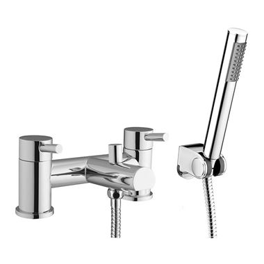 Vellamo Twist Bath Shower Mixer Tap