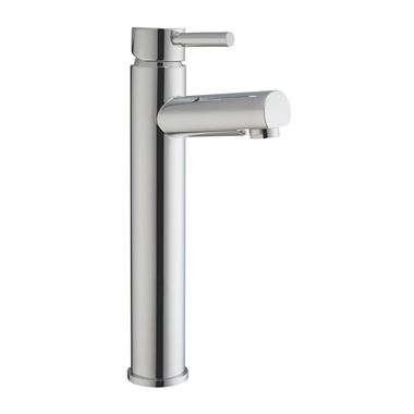 Vellamo Twist Tall Tower Basin Mixer Tap