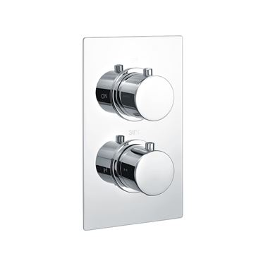 Vellamo Twist 1 Outlet Thermostatic Concealed Shower Valve