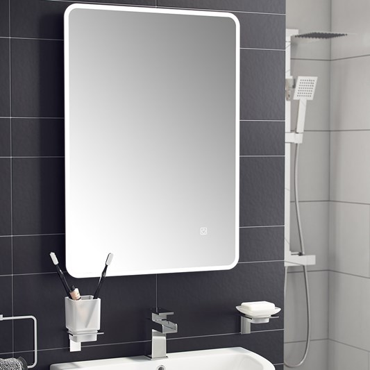 Vellamo LED Illuminated Steam Free Mirror - 500 x 700mm