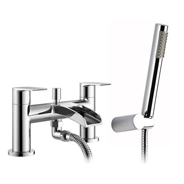 Vellamo Venta Waterfall Bath Shower Mixer Tap