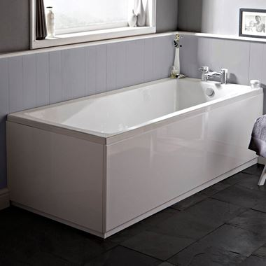 William Single Ended Reinforced or Standard Bath - 1800 x 800mm